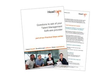 questions to ask you talent management software vendor